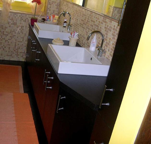 MSL Polini. Arredamenti personalizzati Mobile bagno in legno wengè ...