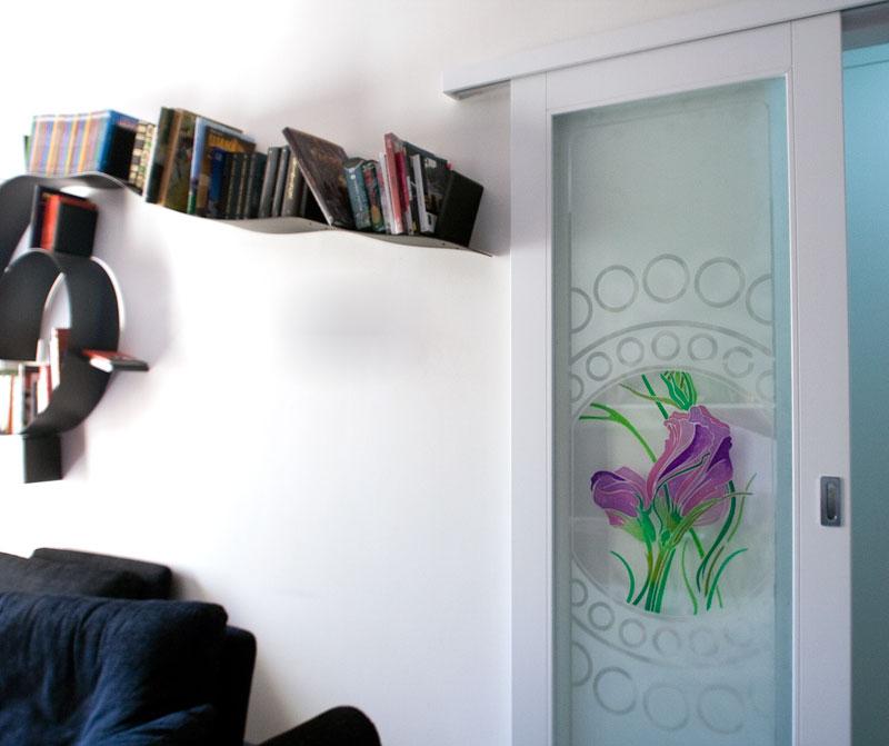 Msl polini arredamenti personalizzati porta scorrevole con guida esterna msl polini - Guida per porta scorrevole ...