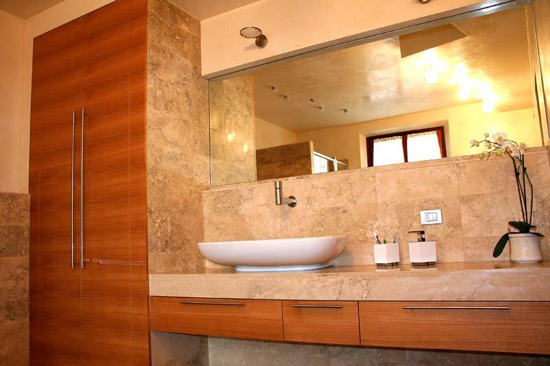 msl polini. arredamenti personalizzati mobile bagno castagno e ... - Arredo Bagno In Marmo