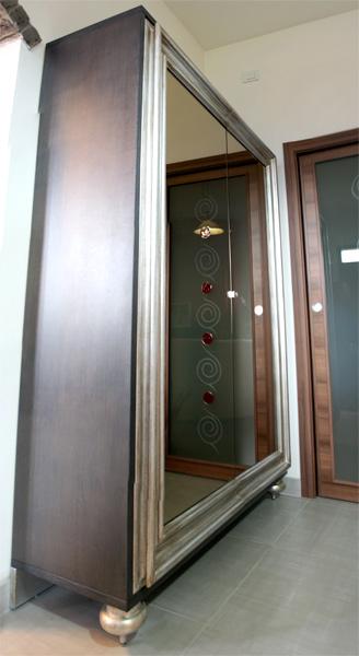 Msl polini arredamenti personalizzati armadio mobile for Armadio da soggiorno